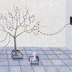 """""""conversation"""" oil on canvas 91x116.7cm"""