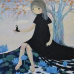 """""""生まれたかった私"""" oil on canvas 91x116.7cm"""